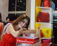Digiunano Show2014 automatici modello non identificato di BANGKOK, TAILANDIA luglio 4,2014 presentato Shell, la convenzione Hall  Fotografia Stock Libera da Diritti