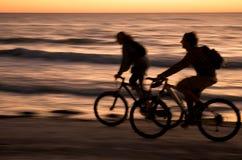Digiuni alla spiaggia Fotografia Stock Libera da Diritti