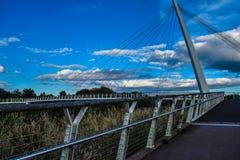 Diglis bridge stock image
