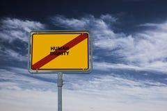 DIGNIDAD HUMANA - la imagen con palabras se asoció a la COMUNIDAD DE VALORES, palabra, imagen, ejemplo del tema Imagen de archivo libre de regalías