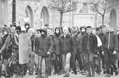 Dignidad Ucrania Lutsk de la revolución Fotos de archivo