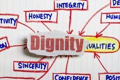 Dignità immagine stock