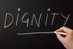 Dignité Photos libres de droits