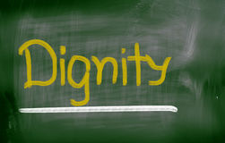 Dignity Concept Royalty Free Stock Images