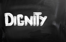 Dignity Concept Stock Photography