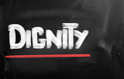 Dignity Concept Royalty Free Stock Photos