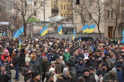 Dignity March in the Ukrainian capital Stock Photo