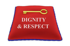 Dignity and Respect concept Stock Photos