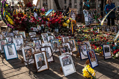 Dignity Revolution - Euromaidan Kiev, Ukraine Stock Image