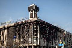 Dignity Revolution - Euromaidan Kiev, Ukraine Royalty Free Stock Image