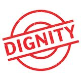 Dignity rubber stamp Royalty Free Stock Photos