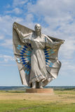 Dignity Sculpture of American Indian Woman. Royalty Free Stock Image