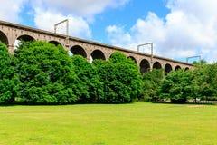 Digswell高架桥在英国 免版税库存照片