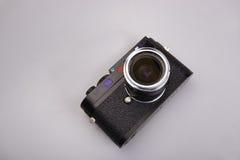 Digtial Kamera und Objektiv Lizenzfreies Stockbild