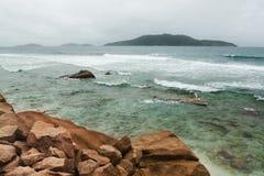 digue Λα Σεϋχέλλες νησιών Στοκ εικόνα με δικαίωμα ελεύθερης χρήσης