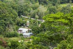 Фермы Digue Ла, Сейшельские островы Стоковая Фотография RF