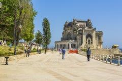 Digue de casino, Constanta, Roumanie Photos libres de droits