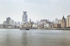 Digue de Changhaï Photo libre de droits