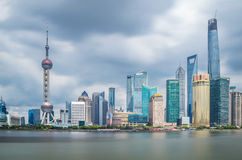 Digue de Changhaï Image libre de droits