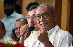 Digvijaya singh, πρώην κύριος υπουργός Madhya Pradesh στοκ εικόνα με δικαίωμα ελεύθερης χρήσης