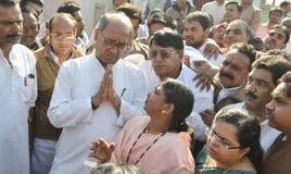 Digvijaya singh, πρώην κύριος υπουργός Madhya Pradesh στοκ φωτογραφίες με δικαίωμα ελεύθερης χρήσης