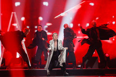 DiHaj from Azerbaijan Eurovision 2017 Stock Image