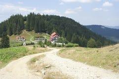 Diham chalet, Bucegi mountains Stock Photography