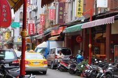 Dihua-Straße, Taipeh stockfotos