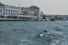 Dijk in Sebastopol in de Krim royalty-vrije stock afbeelding