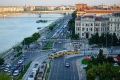 Dijk van de Donau Stock Fotografie