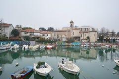 Dijk van Porto Canale Royalty-vrije Stock Fotografie