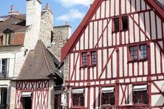 Dijon, Burgunder, historische Marktplatzaltbauten Frankreichs lizenzfreie stockfotos