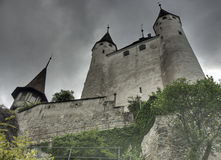 Dijon of castle Thun Stock Images