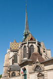 Dijon Cathedral i staden av Dijon, Frankrike Royaltyfri Foto