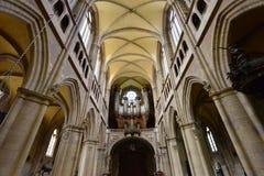 Dijon, France - april 22 2016 : cathedral Stock Photos