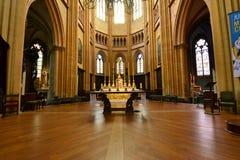 Dijon, France - april 22 2016 : cathedral Stock Image