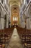 Dijon, France - april 22 2016 : cathedral Royalty Free Stock Photos