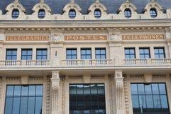 Dijon, France - april 22 2016 : post office Stock Photos