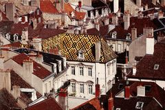 Dijon, France : XVIIème siècle Hôtel de Vogué Photo stock