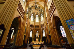 Dijon, Frankreich - 22. April 2016: Kathedrale Stockbilder