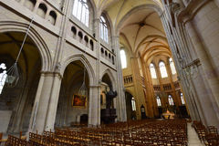Dijon, Frankreich - 22. April 2016: Kathedrale Stockfoto