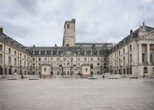 Dijon Frankrike, befrielsequare Arkivbilder