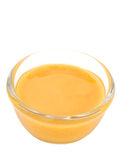 Dijon mustard salad dressing isolated Stock Images