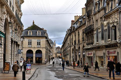 Dijon Old Town Urban View Stock Images