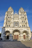 Dijon - Saint-Michel. Dijon (Cote-d'Or, Burgundy, France) - Facade of the Saint-Michel church Stock Images