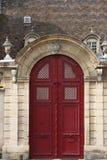 Dijon-Tür lizenzfreie stockbilder
