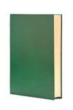 Dik boek in groene dekking Stock Foto's