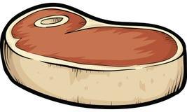 Dik lapje vlees royalty-vrije illustratie