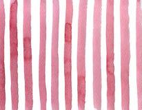 Dik zelfs niet roze strepen stock illustratie