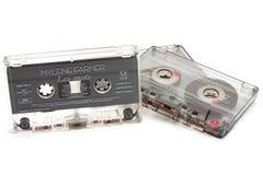 DIKANKA, UKRAINE - 26 NOVEMBRE 2015 : Filmez les cassettes de bande utilisées pour l'enregistrement et le playback de la musique photos stock
